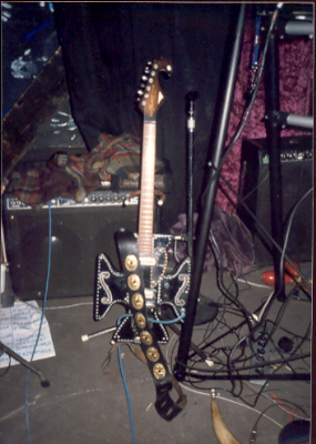 Variant Cause Harvey Thomas Maltese Cross guitar